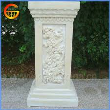 fiberglass columns for wedding decorating fiberglass columns for