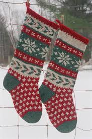 knitted christmas stocking patterns for real christmas feel
