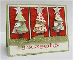 inkspired treasures blog archive folded christmas trees