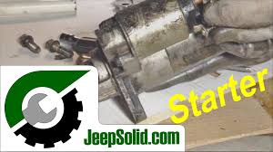 2005 jeep grand starter replacement how to replace starter jeep starter installation