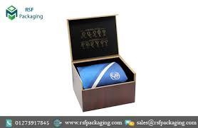 tie boxes custom printed necktie boxes rsf packaging