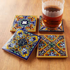 moroccan tile coasters what a great craft for the new year use the