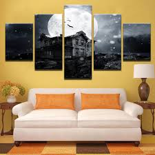 halloween full moon photography background online get cheap full moon house aliexpress com alibaba group
