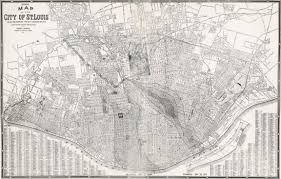 Map St Louis Story Of The 1927 St Louis Tornado