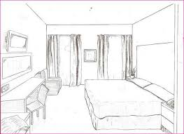 Drawing Of A Bed One Point Perspective Drawing Of A Bed Simple Image Gallery