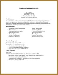 college graduate resumes best resume for recent college graduate therpgmovie