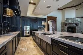 Pictures Of Kitchens With Black Cabinets 35 Luxury Kitchens With Dark Cabinets Design Ideas Designing Idea