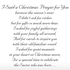 religious christmas card sayings i said a christmas prayer religious christmas card set of 20