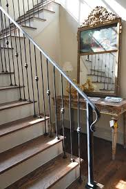 traditional staircases stylsish iron handrail and banister for a traditional staircase