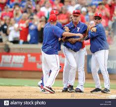 may 15 2016 texas rangers bench coach steve buechele 24 is
