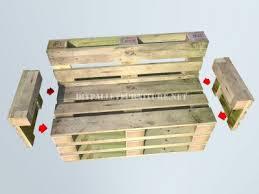 comment fabriquer un canapé en palette comment faire un banc avec palettes é par étapemeuble en