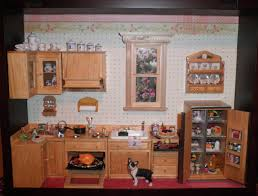 dollhouse furniture kitchen her collection of dreams dollhouse roomboxes