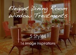 dining room window treatment ideas dining room window treatment ideas