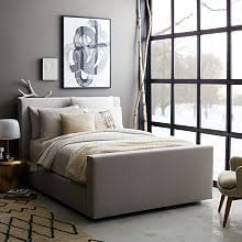 West Elm Bedroom Furniture by Sawyer Canopy Bed Walnut Veneer Bedrooms And Lights