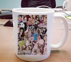 Ceramic Coffee Mugs Ariana Grande Ceramic Mug Pillowmug Com