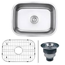 Ruvati RVM Undermount  Gauge  Kitchen Single Bowl Sink - Kitchen bowl sink