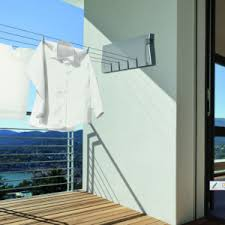 retractable wall mounted washing lines u0026 clotheslines