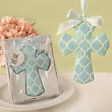 hton cross ornament favors