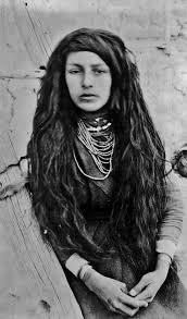 american indian hairstyles isleta pueblo girl circa 1890 central new mexico antique