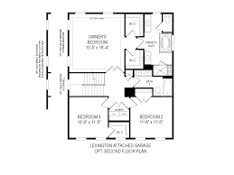 Single Family Homes Floor Plans by Cabin Branch Single Family Home Floorplans Winchester Homes