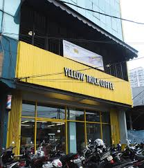 Yellow Truck Coffee yellow truck