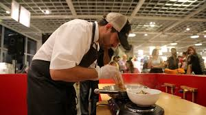 budget cuisine ikea gourmet on a budget ikea challenges haute chefs to cook 3 ramen