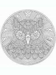 animal mandala coloring pages for free printable animal