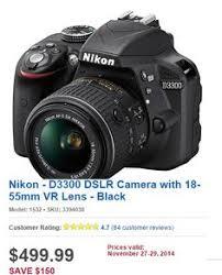 black friday camera deals nikon d3300 bundle costco digital slr camera black friday 2014
