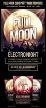 full moon club party flyer template u2014 photoshop psd dark artist