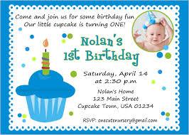 first birthday invitation letter sample