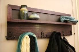 Entryway Wall Organizer Wall Mounted Shelf With Hooks Foter