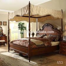 Antique Style Bed Frame New Launched Solid Wood Furniutre Antique Beds Buy King Size
