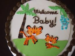 fisher price rainforest jungle safari baby shower cake