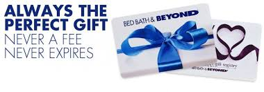 bed and bath registry wedding bed bath and beyond gift cards always the gift never a