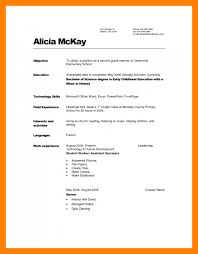 Child Care Worker Resume Template 11 Sample Daycare Resume Resume Sections