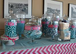 Plastic Candy Containers For Candy Buffet by Candy Theme Bat Mitzvah Innovative Party Planners