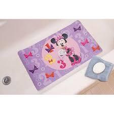 Minnie Mouse Bathroom Rug Disney Minnie Mouse Bath Decorative Tub Mat Skid Resistant Bath