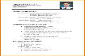 resume format job 79 amazing basic resume format examples of