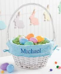 personalized wicker easter baskets another great find on zulily white pink wicker personalized