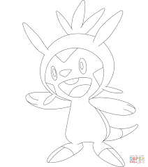 chespin coloring page free printable coloring pages