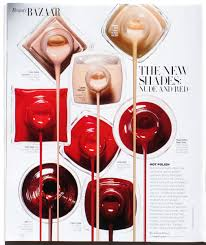 beauty bazaar polish editorial pinterest editorial