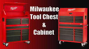 tool chest and cabinet set milwaukee 46 16 drawer tool chest and rolling cabinet set overview