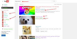 Doge Meme Youtube - youtube hidden tricks in hindi kaise how