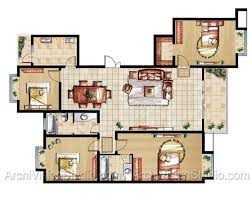 25 more 3 bedroom 3d floor plans 3d bedrooms and house vibrant