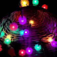 Decorative Lighting String Rgb Christmas Lights Christmas Decor