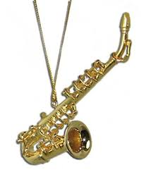 miniature saxophone ornament 3 25 home