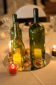 wine bottle wedding centerpieces 42 best wine bottle centerpieces images on wine bottle