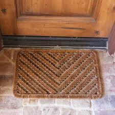 Coco Doormat Herringbone