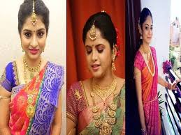 indian hairstyles engagement south indian bridal makeup collections for engagement youtube