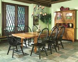 solid oak dining set rustic traditions inrt44108sset